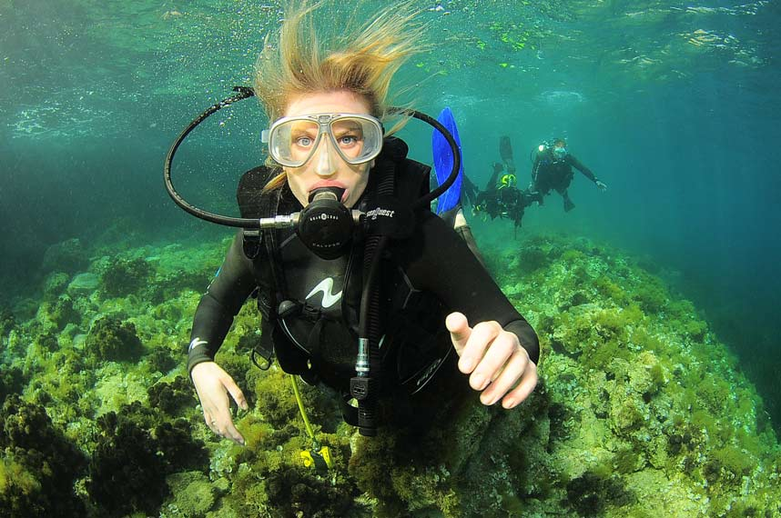 Scuba Diving Lessons on Ibiza