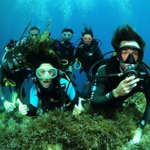 10 DIVES (TANKS AND WEIGHTS) IN IBIZA