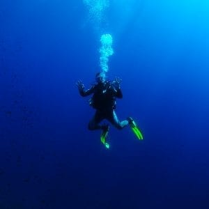 2 DIVES (TANKS AND WEIGHTS) IN IBIZA