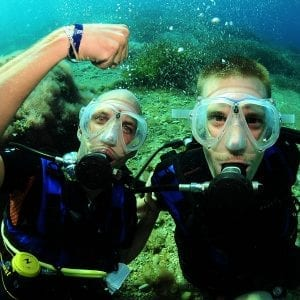 4 DIVES (TANKS AND WEIGHTS) IN IBIZA